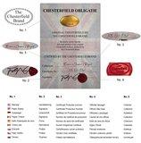 Chesterfield Sofa Vintage Leder | 3-Sitzer | Mokka | 12 Jahre Garantie_