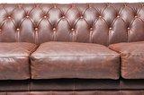 Chesterfield Sofa Vintage Leder | 5-Sitzer  | Braun | 12 Jahre Garantie_