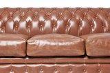 Chesterfield Sofa Vintage Leder   5-Sitzer  Mokka   12 Jahre Garantie_