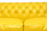 Chesterfield Sofa Original Leder |  2 + 3  Sitzer | Gelb |12 Jahre Garantie_