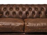 Chesterfield Sofa Vintage Leder C0869 | 1 + 2 Sitzer | 12 Jahre Garantie_