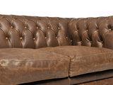 Chesterfield Sofa Vintage Leder Alabama C1059 | 1 + 1 + 3 Sitzer | 12 Jahre Garantie_