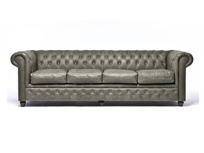 Chesterfield Sofa Vintage Alabama C1057 | 4-sitzer | 12 Jahre Garantie