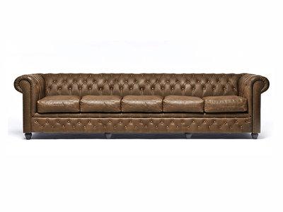 Chesterfield Sofa Vintage Alabama C1059 | 5-sitzer | 12 Jahre Garantie