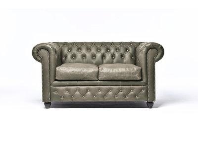 Chesterfield Sofa Vintage Alabama C1057 | 2-Sitzer | 12 Jahre Garantie