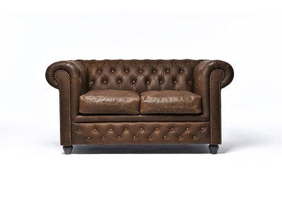 Chesterfield Sofa Vintage C0869 | 2-Sitzer | 12 Jahre Garantie