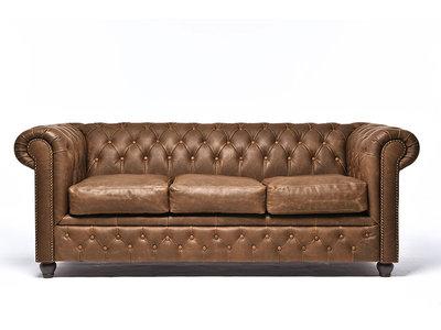 Chesterfield Sofa Vintage Alabama C1059 | 3-sitzer | 12 Jahre Garantie