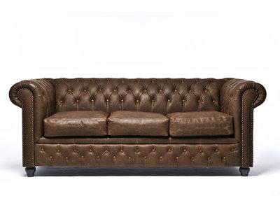 Chesterfield Sofa Vintage C0869 | 3-sitzer | 12 Jahre Garantie