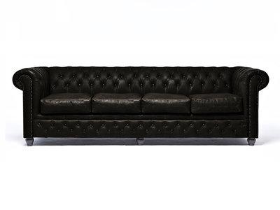 Chesterfield Sofa Vintage C0936 | 4-sitzer | 12 Jahre Garantie
