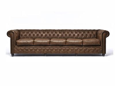 Chesterfield Sofa Vintage C0869 | 5-sitzer | 12 Jahre Garantie