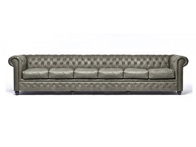 Chesterfield Sofa Vintage Alabama C1057   6-Sitzer   12 Jahre Garantie