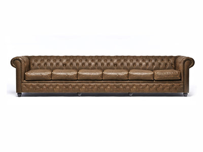 Chesterfield Sofa Vintage Alabama C1059 | 6-Sitzer | 12 Jahre Garantie
